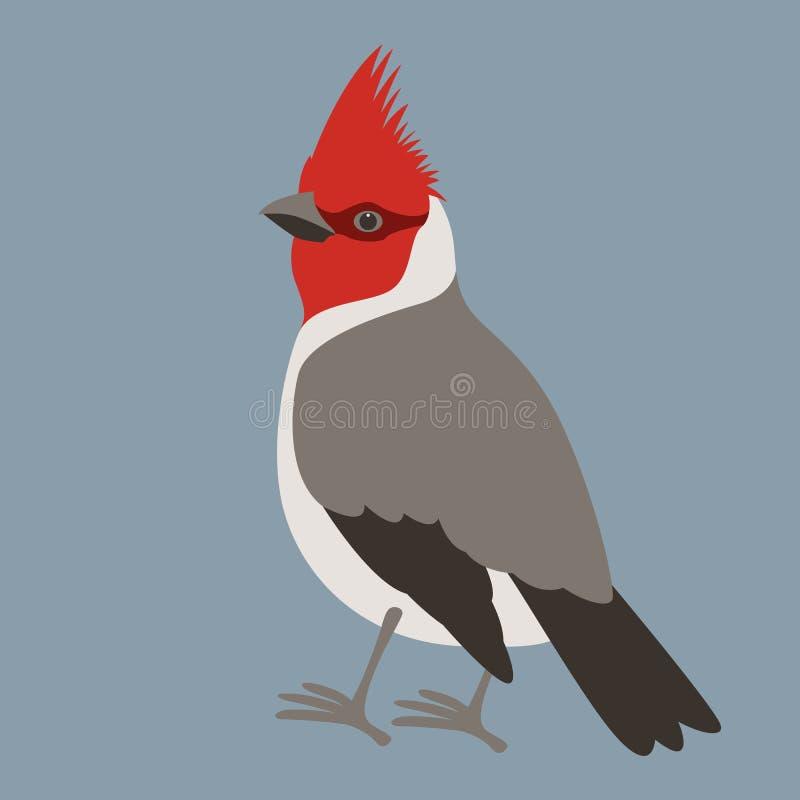 主要鸟传染媒介例证平的样式外形 向量例证