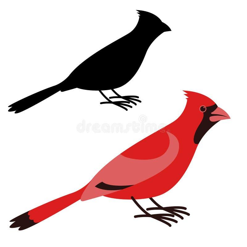 主要鸟,传染媒介例证,平的样式,外形 皇族释放例证