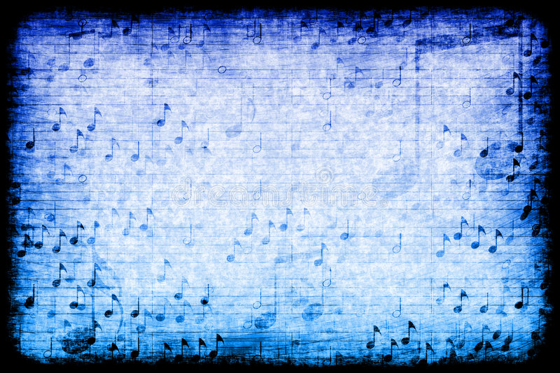 主题抽象背景grunge的音乐 向量例证