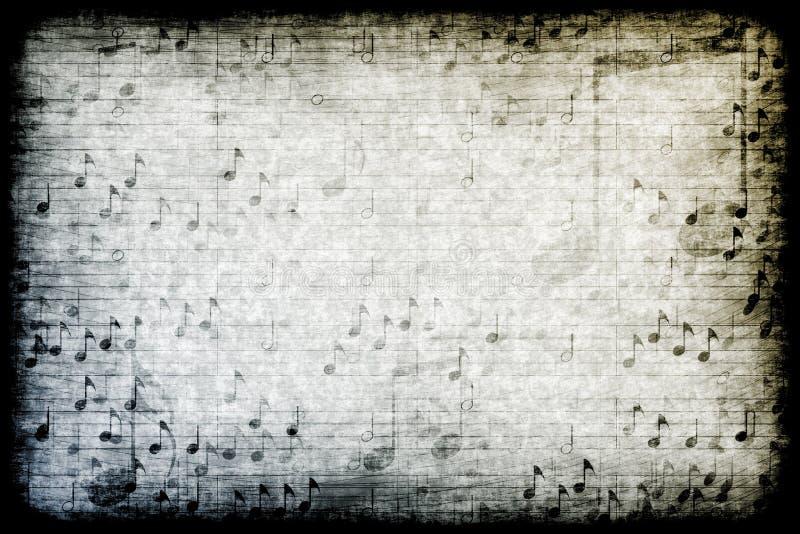 主题抽象背景grunge的音乐 皇族释放例证