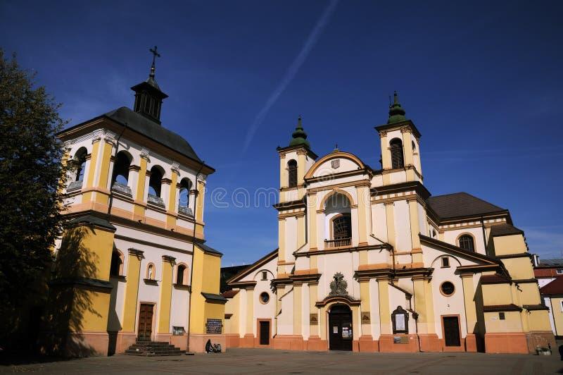 乌克兰伊万诺 — 弗兰科夫斯克圣母教堂 库存图片