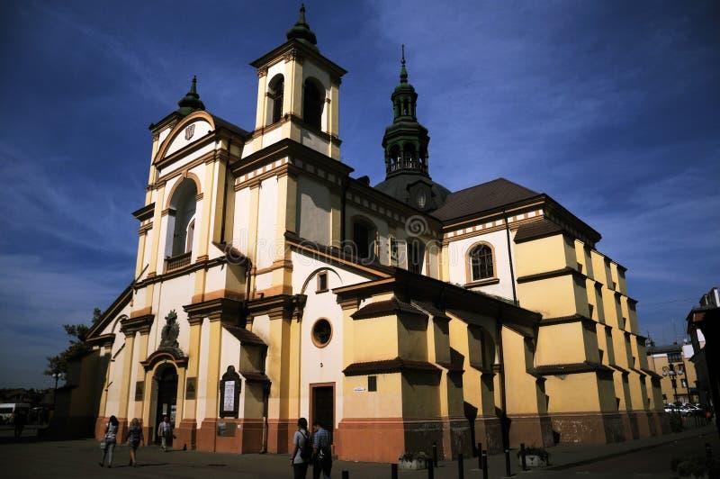 乌克兰伊万诺 — 弗兰科夫斯克圣母教堂 库存照片