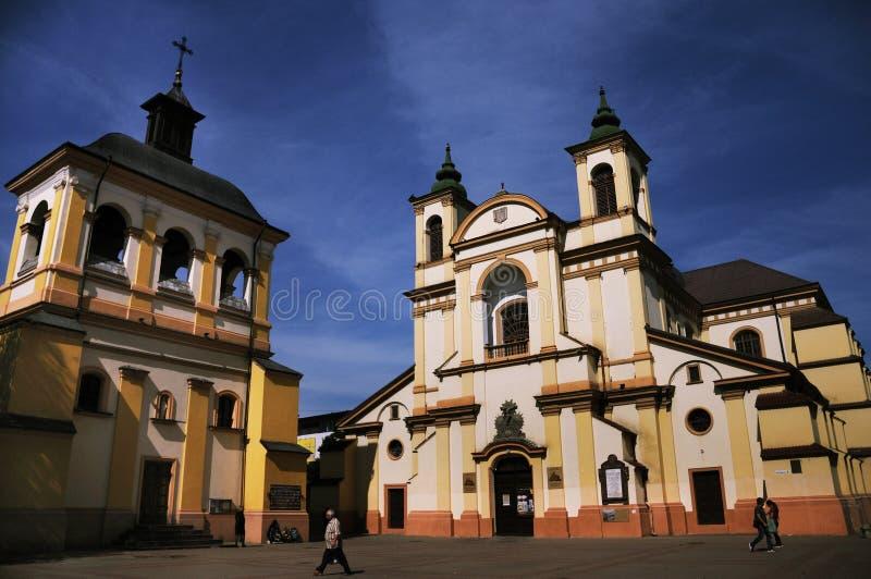 乌克兰伊万诺 — 弗兰科夫斯克圣母教堂 免版税库存照片