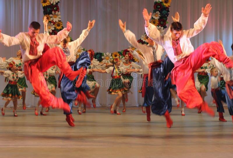乌克兰全国舞蹈 免版税库存照片