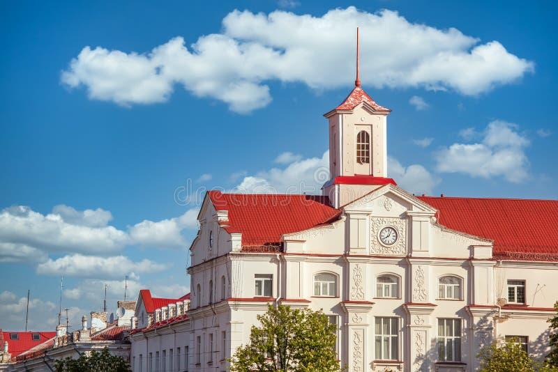 乌克兰切尔尼希夫市政厅建设 库存图片