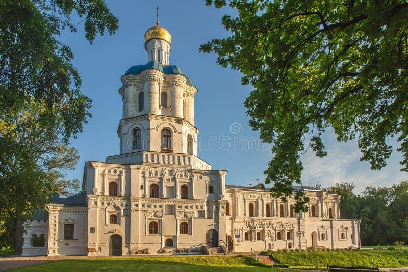 乌克兰切尔尼希夫村美丽建筑 库存照片