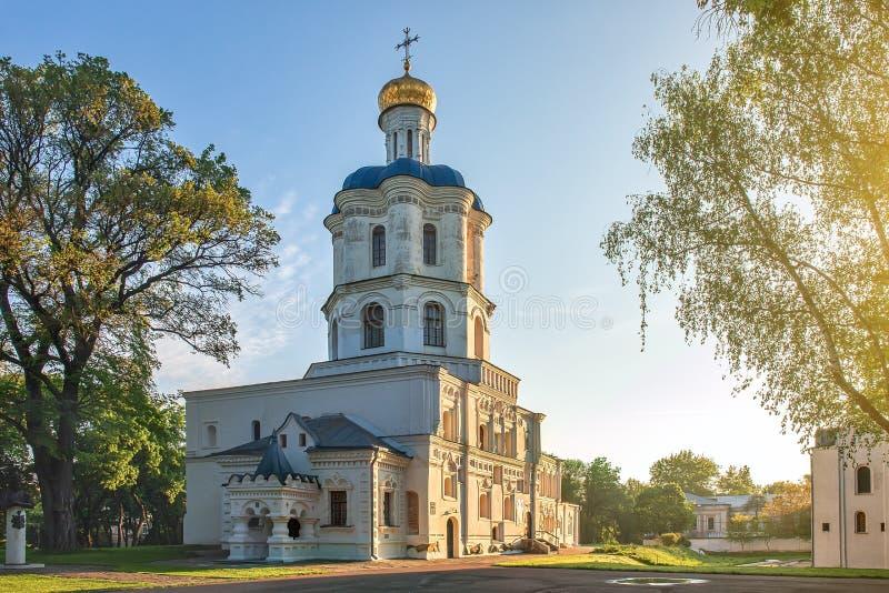 乌克兰切尔尼希夫村美丽建筑 免版税库存图片