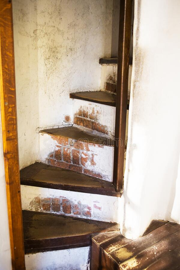 乌克兰卢茨克卢巴特城堡的旧环境 库存图片