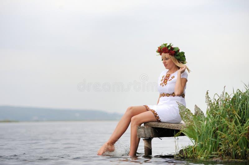 乌克兰妇女 库存照片