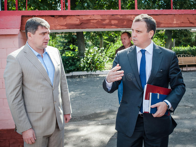 乌克兰政客 免版税库存照片