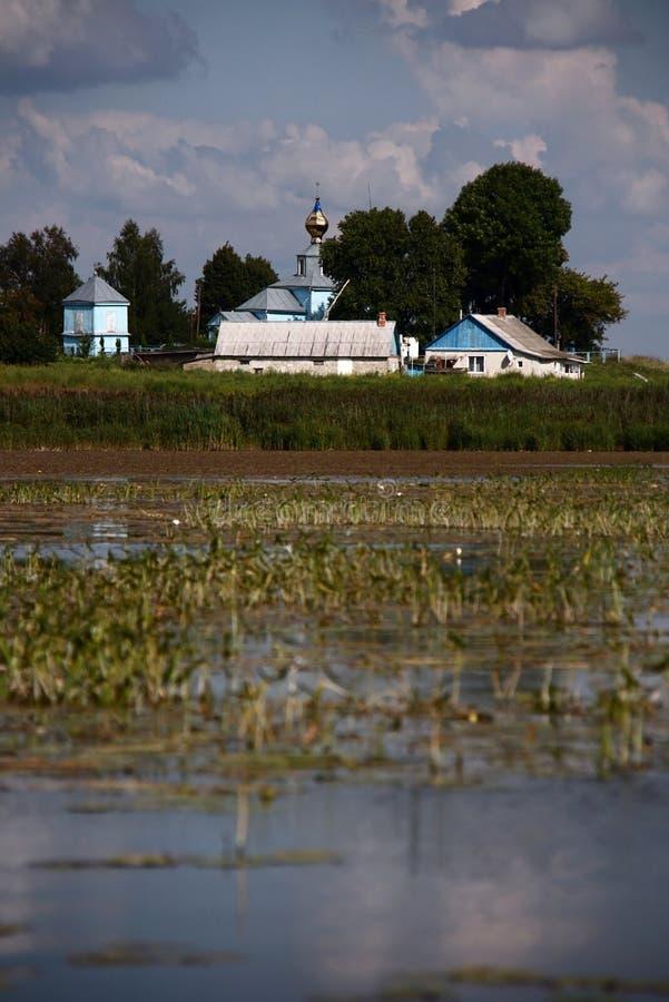 乌克兰村庄 免版税图库摄影