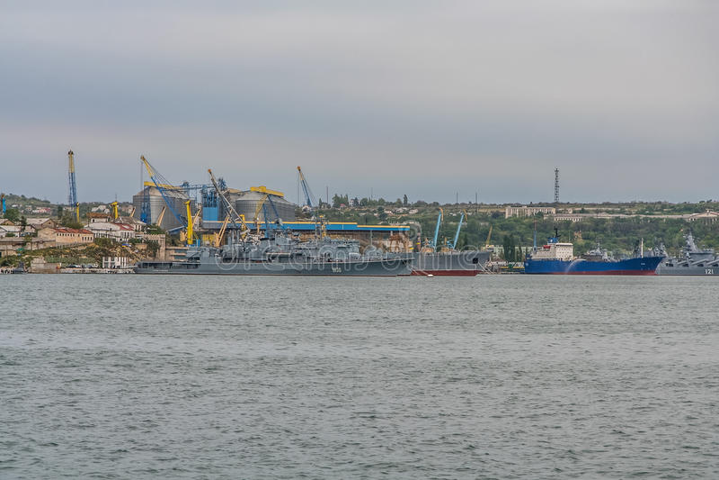 乌克兰海军的船 图库摄影