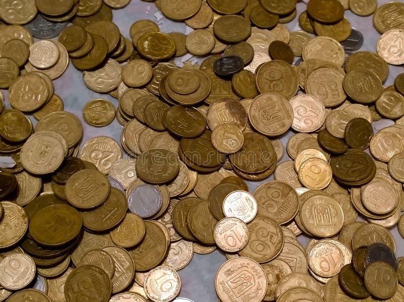 乌克兰的零钱硬币 免版税库存图片