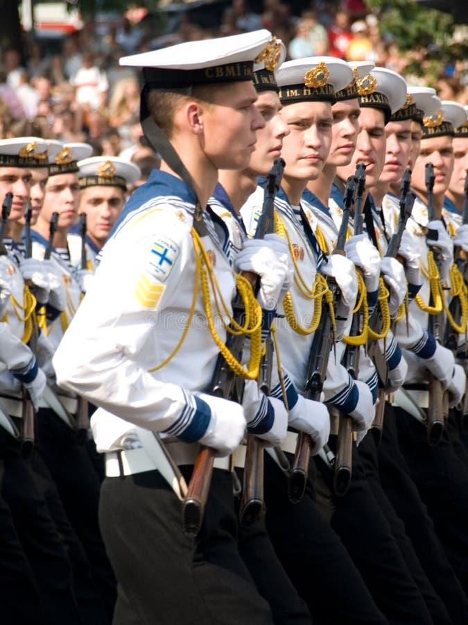 乌克兰语的水手 免版税库存照片