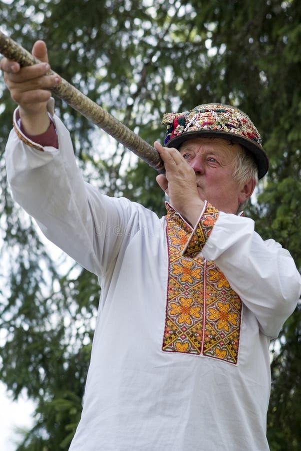 乌克兰语Hutsul 库存图片