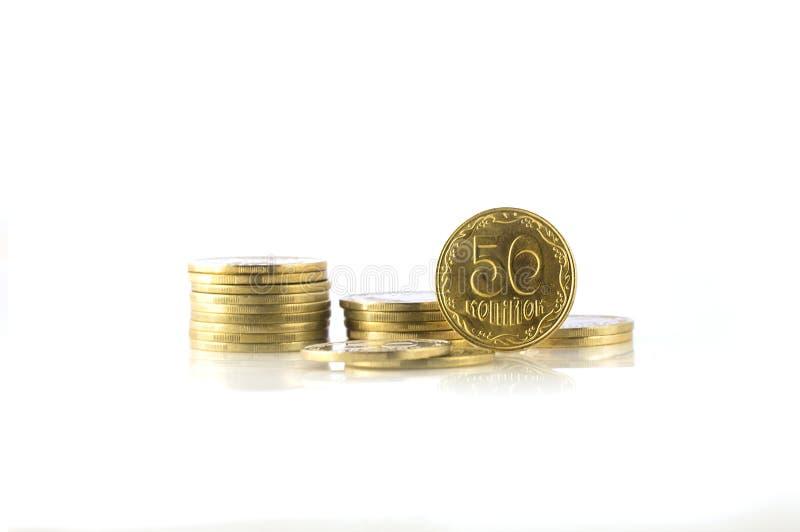 乌克兰货币 免版税库存照片