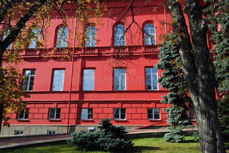 乌克兰- 9月15,2012:基辅塔拉斯・舍甫琴科国立大学  库存图片