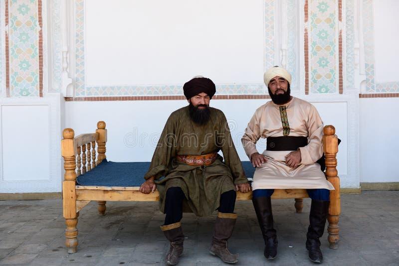 乌兹别克人人,Kokand,费尔干纳盆地,乌兹别克斯坦 图库摄影