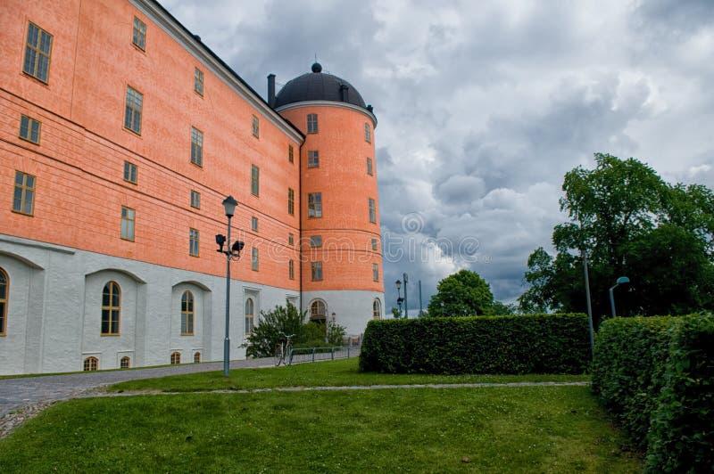 乌普萨拉城堡-乌普萨拉Slott 库存照片