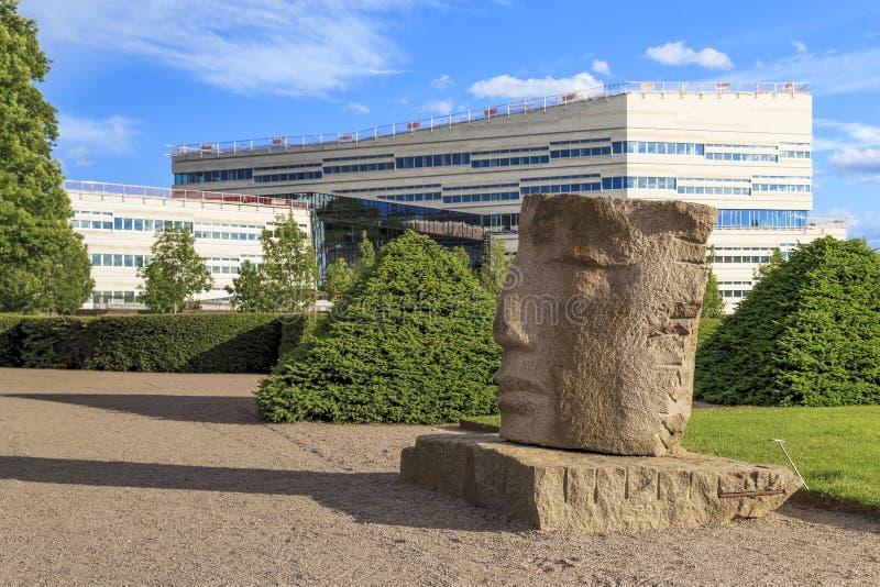 乌普萨拉,瑞典大学  免版税图库摄影