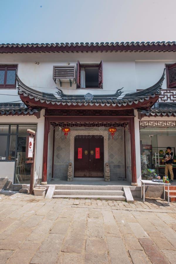 乌江同里古镇典型大厦 免版税库存图片
