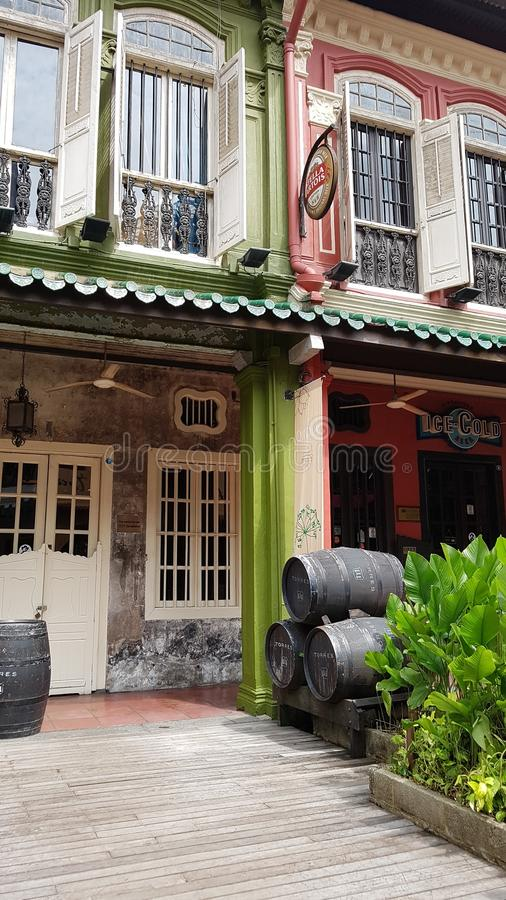 乌节路新加坡 库存照片