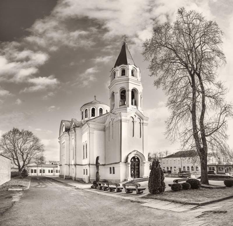 乌默格圣三一教堂 库存图片