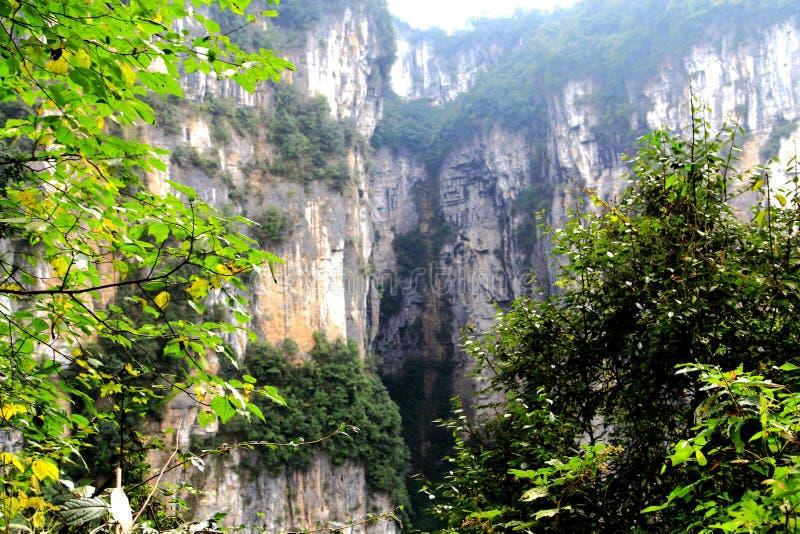 乌龙全国地质公园 免版税图库摄影