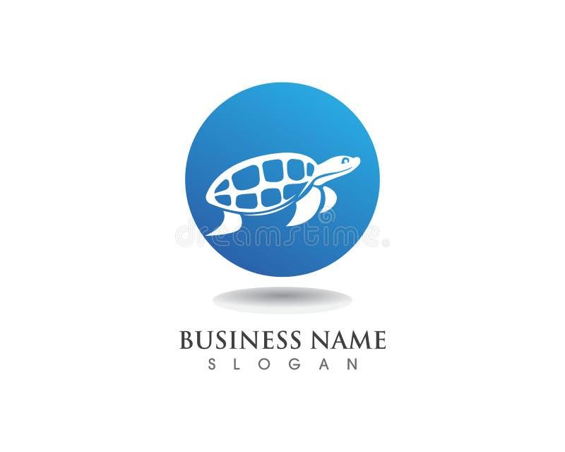 乌龟动物动画片图象传染媒介例证设计 库存例证
