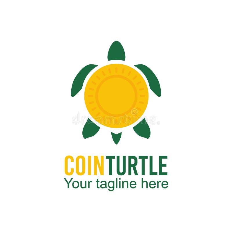乌龟商标传染媒介艺术商标模板和例证 向量例证