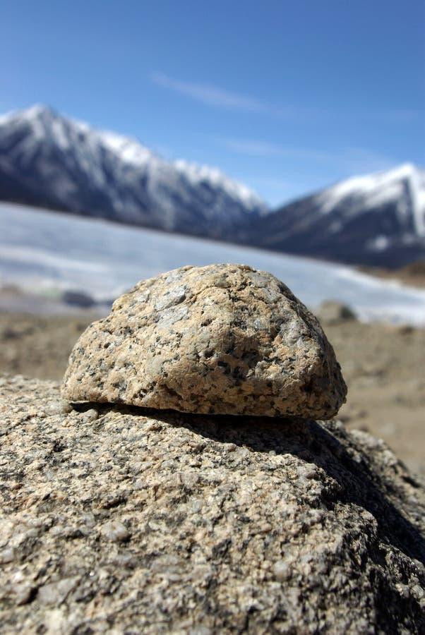 乌龟岩石 库存照片