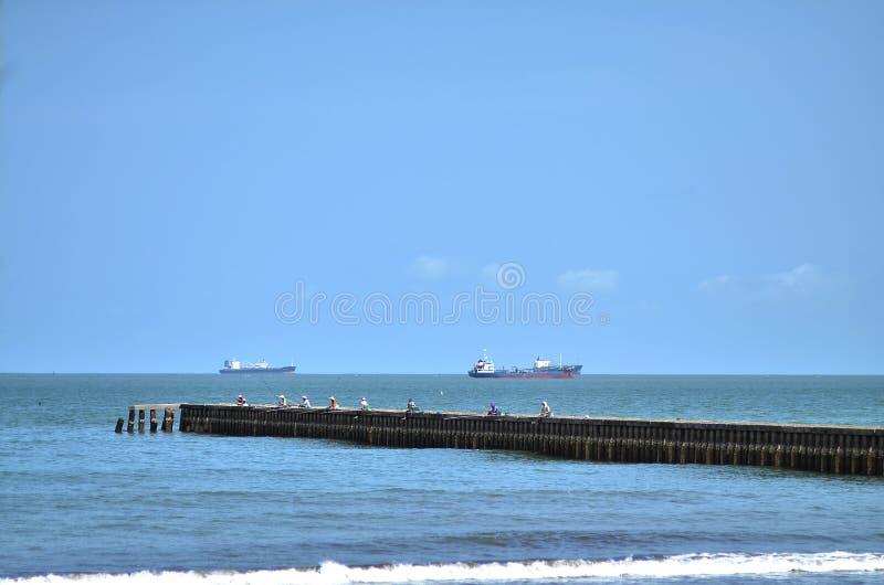 乌龟海湾在南海岸 库存图片