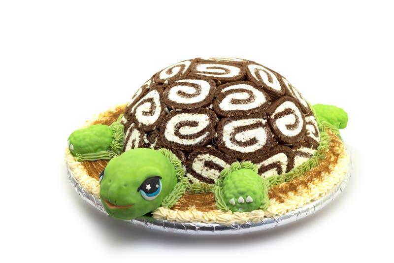 乌龟蛋糕 免版税库存照片