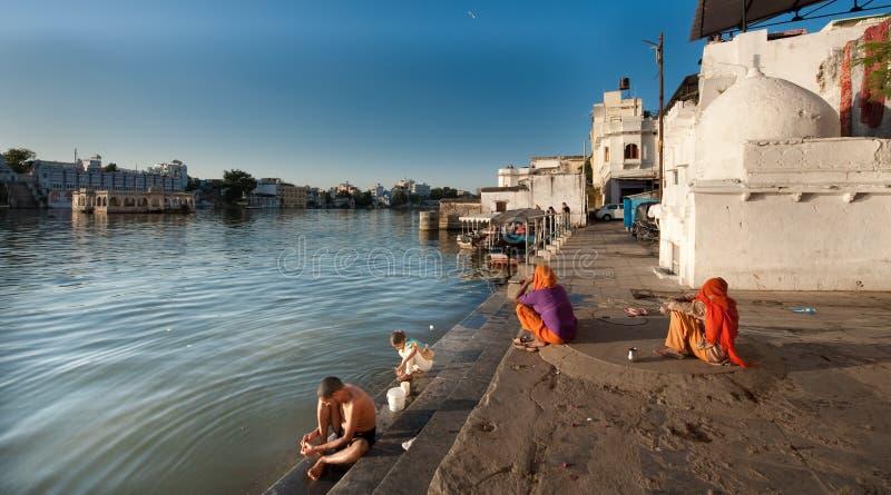 乌代浦-印度 免版税库存照片