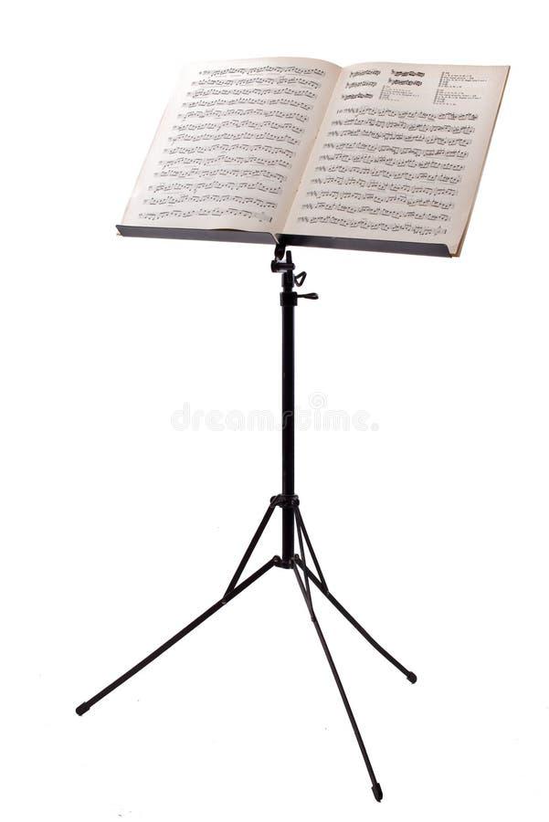 乐谱架 免版税图库摄影