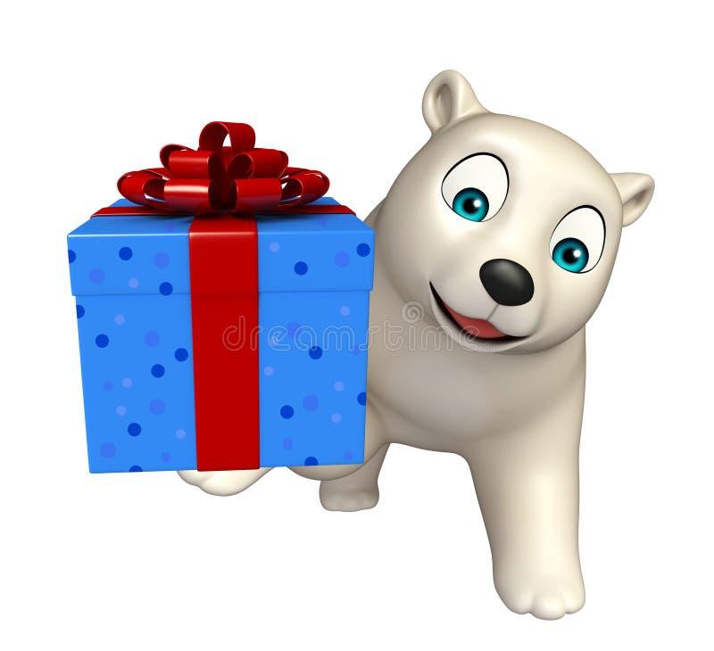 人物北极熊与giftbox的乐趣生日.漫画,a人物.反正两只老虎爱跳舞图片
