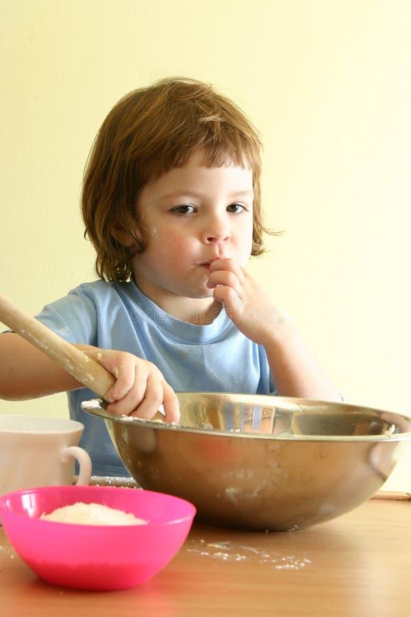 乐趣厨房 免版税库存图片