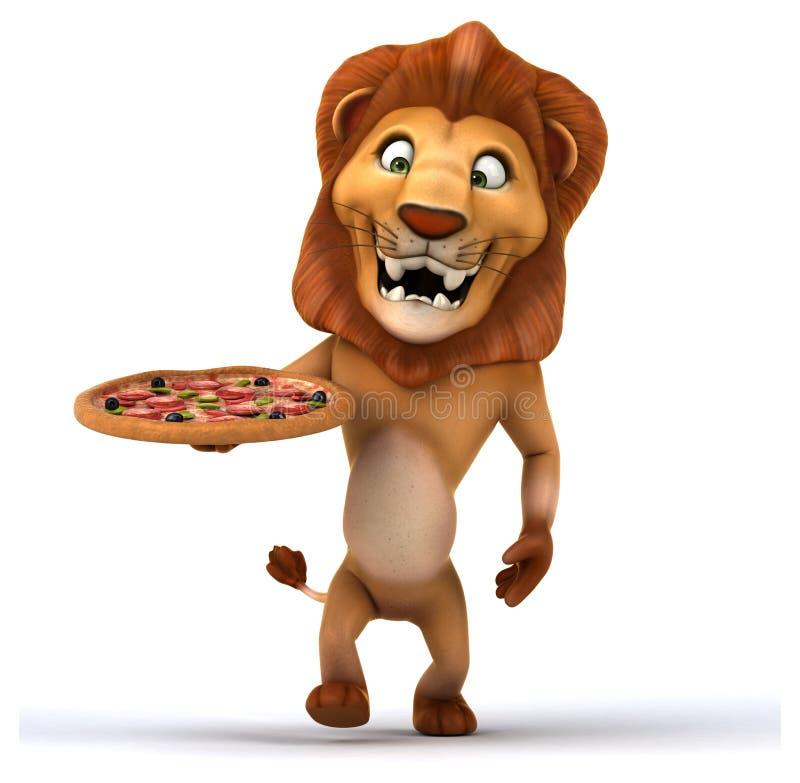 乐趣狮子 向量例证