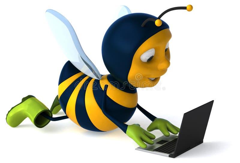 乐趣蜂 向量例证