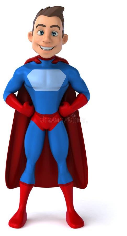 乐趣超级英雄 库存例证