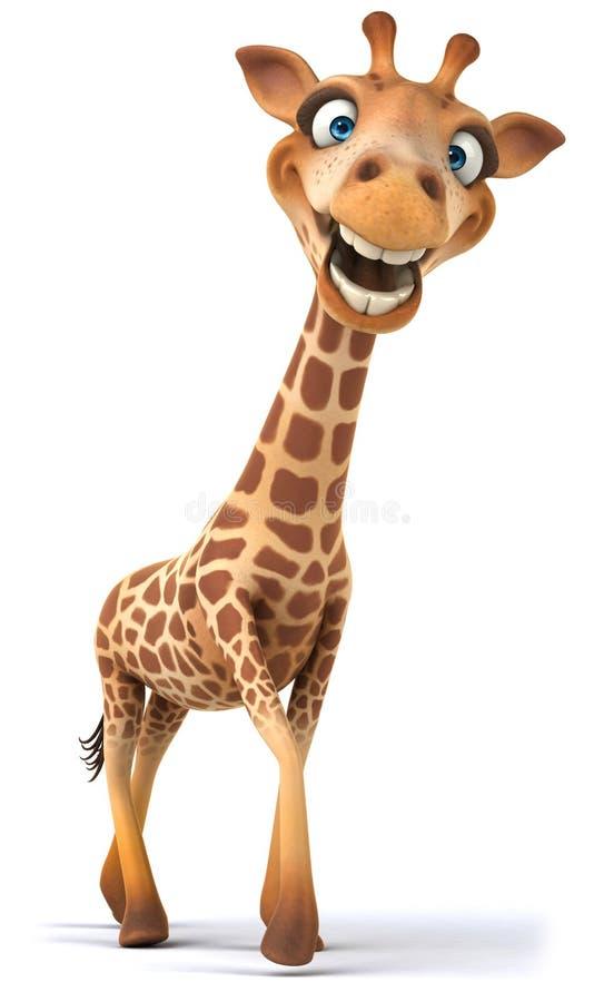 乐趣长颈鹿 向量例证