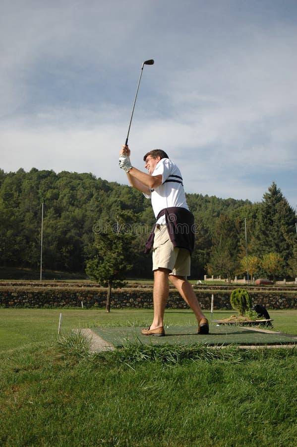 乐趣高尔夫球 免版税库存图片