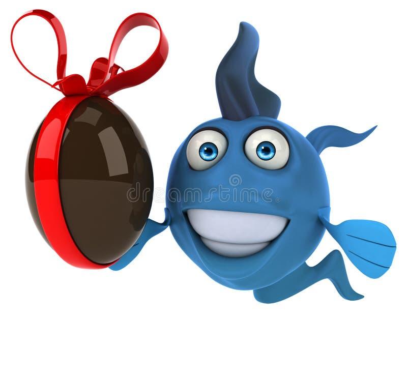 乐趣鱼 向量例证