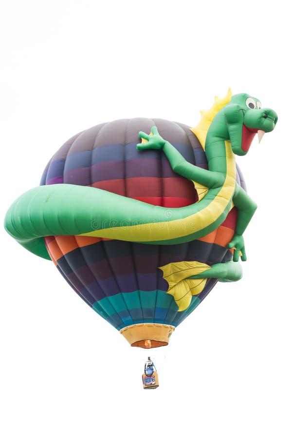 乐趣龙气球 免版税库存照片