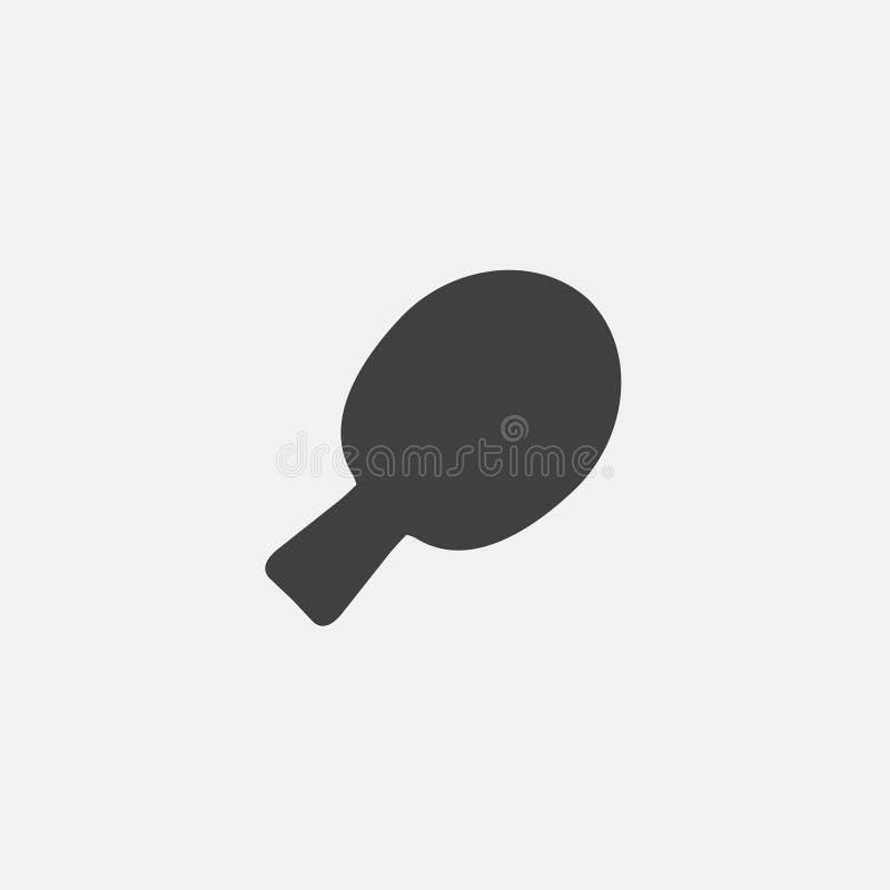 乒乓球象 向量例证
