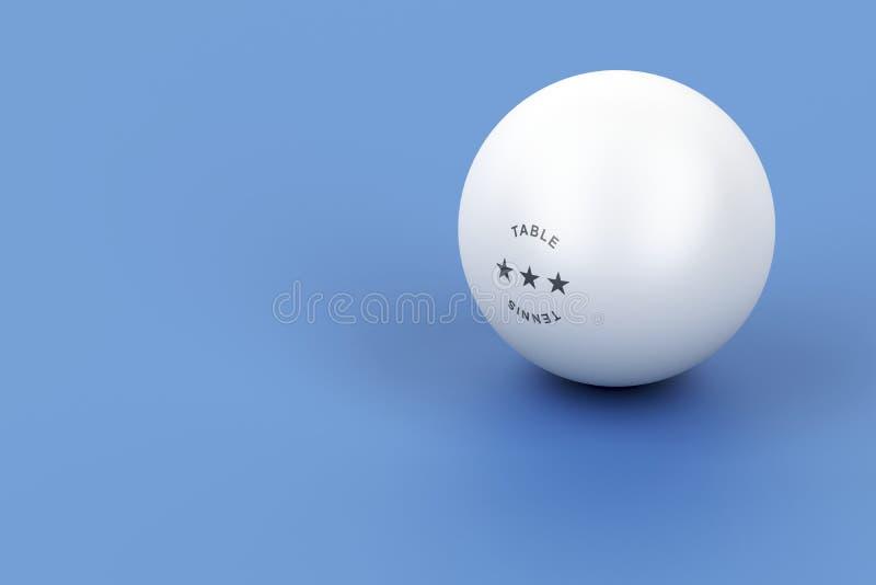 乒乓球 库存例证