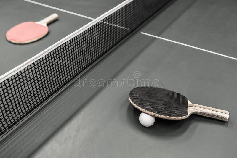 乒乓球 免版税库存图片