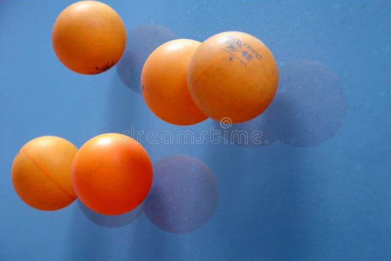 乒乓球 免版税库存照片