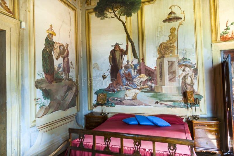 从乔凡尼・巴蒂斯塔・提埃坡罗的壁画 免版税库存图片