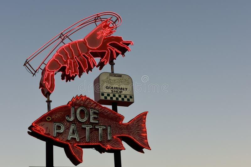 乔帕蒂海鲜餐馆,彭萨科拉,佛罗里达,美国 库存图片